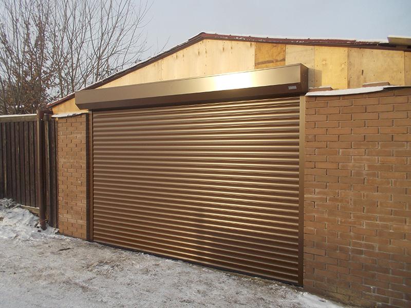 Подъемные гаражные ворота своими руками - установка