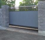 Въездные ворота: откатные ворота, распашные ворота, роллетные ворота.